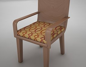 bar chair 2 3D model