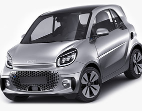 Smart EQ Fortwo 2020 Prime Coupe 3D