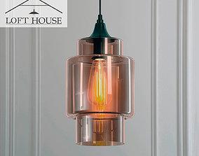 chandelier 3D Hanging lamp LOFT HOUSE P-158