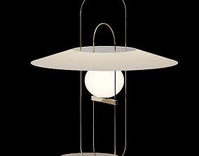 SETAREH Table Lamp Fontana Arte 3D model