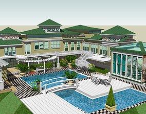 3D model resort house House