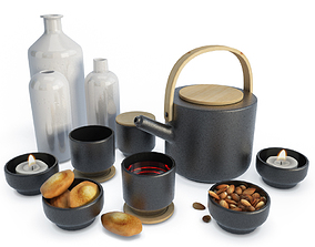 miscellaneous 3D model Set Tea Time