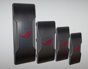 3D model Asus SLI Bridges