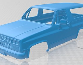 Blazer Mk2 K5 1989 Printable Body Car