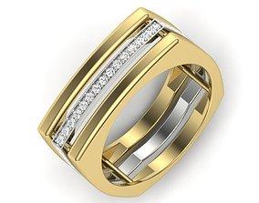 engagement wedding ring 3dm stl render detail 3D print