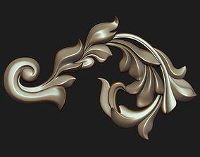 Carved decor 02 3D model
