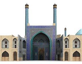 3D iran Imam Mosque Isfahan Iran