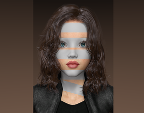 JONA-FEMALE CHARACTER 3D model rigged