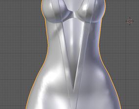 Acroft Dress Slim 3D asset