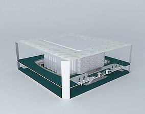 Two World Trade Center Lobby 3D model