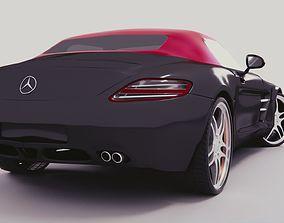Mercedes Benz AMG SLS 2012 3D