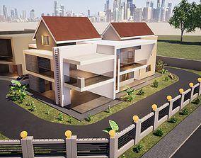 3D model Five Bedroom Mansion