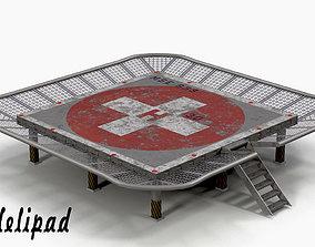 3D model Helipad 2