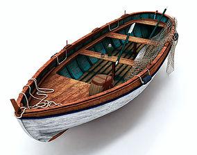 3D model boat Fishing Boat