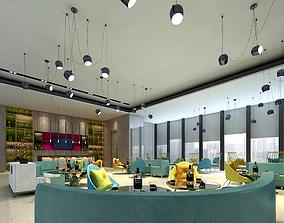 Hotel entertainment KTV bar disco Sing 011 3D
