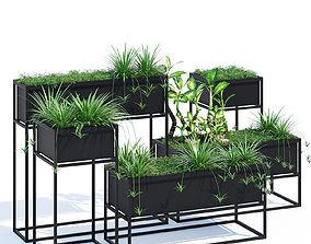 3D model Kronos planters