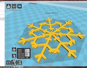 accessory Snowflake 3D print model