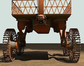 3D Mobile platform selfelevating vehicle