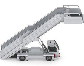 3D Passenger Steps Car