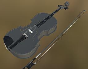 Viola 04 PBR 3D asset