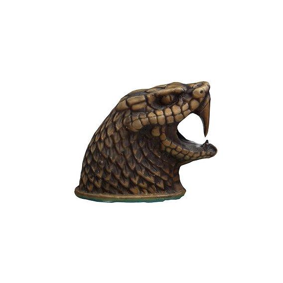 Bronze Snake head