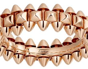 3D print model Cartier Ring dlya