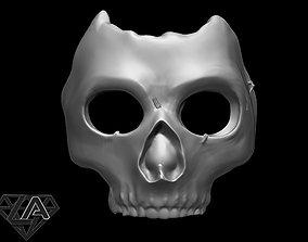 3D print model COD MW 2019 Ghost azrael Mask