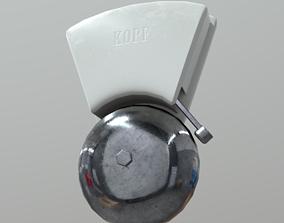 3D asset game-ready Door Bell