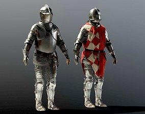 SOLDIER Medieval Armor 3D model