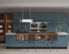 Modern Kitchen AEG 3D model