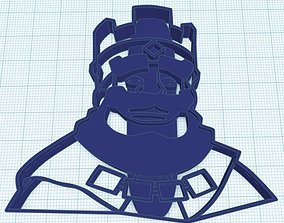 clash of clan - King ver cookie cutter for 3d printing 1