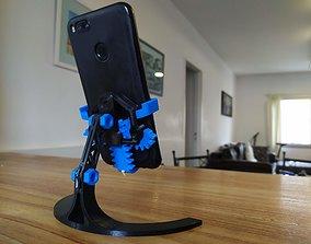 3D printable model MECHANICAL PHONE STAND