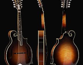 3D model Gibson F5G Mandolin