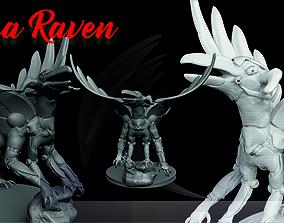 3D print model Colosal Raven