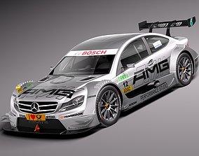 Mercedes C AMG DTM 2012-2014 3D model