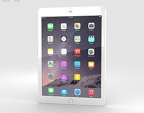 Apple iPad Air 2 Gold 3D model 6
