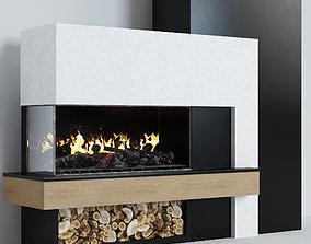 Fireplace modern 7 3D model