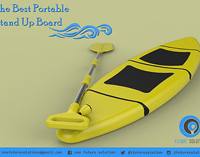 3D model The Best Paddle Board