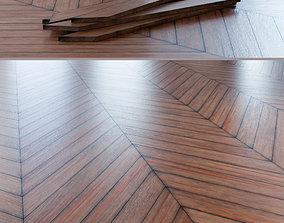 Chevron Rustic Palisander Wood Floor 005 3D