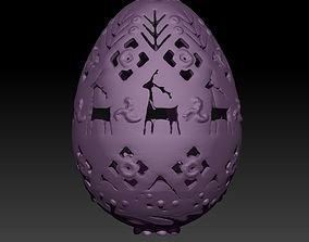 3DP Easter Egg with Ukrainian Traditional