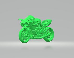 luxury KAWASAKI NINJA H2 3D PRINTING STL FILE