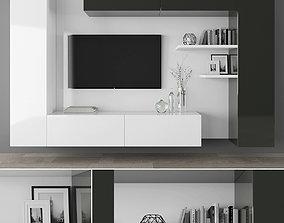 3D model realtime furniture lamp Tv stand