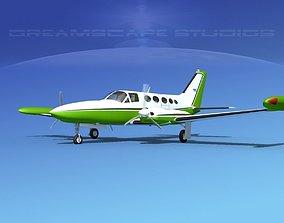 Cessna 414 Chancellor V07 3D