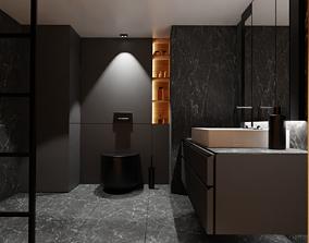 Bathroom family 3D model