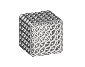 3D printable model Patterned Cube