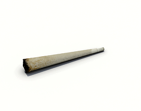 3D asset Smoked Joint