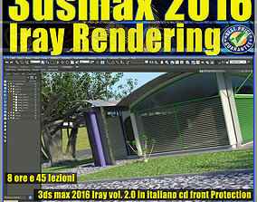 3ds max 2016 Iray Rendering vol 2 cd front rendering