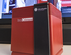 SGi Crimson Jurassic Park Pi Case 3D printable model
