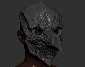 3D printable model Plague Raven mask sculptures