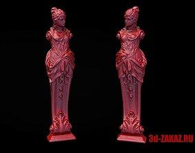 Caryatid 3D printable model